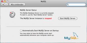 MySQL 300x148 - Installation einer Webentwicklungumgebung mit den Bordmitteln von Mac OSX (Snow Leopard)